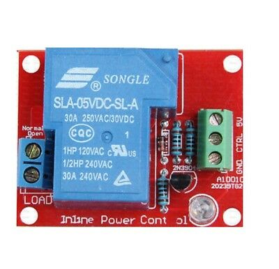 5V 30A Sla-05Vdc-Sl-A Avr Pic Dsp Arm For Arduino 1 High Power Relay Module New
