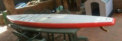 """JP Australia Stand Up Paddle Board 12'6"""" X 30"""" and leg rope excellent condition"""
