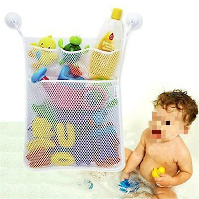 Baby Bath Bathtub Toy Mesh Storage Bag Organizer Holder Bathroom Tidy Net 1PC FW