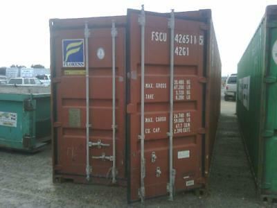 Used 40ft shipping containers (standard size, wind water tight, ex Brisbane)