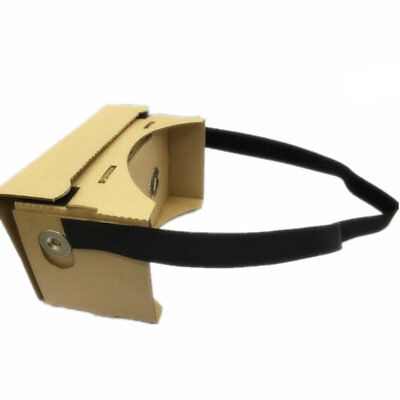 Virtual Reality 3D Glasses with NFC iPhone Android VR Headset Google Cardboard