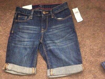 Gap Girls Denim Shorts - Size 7 Years - Bnwt!