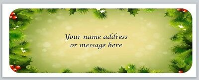 Personalized Address labels Christmas Buy 3 get 1 free (xbo 366)