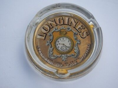 Antique Advertising Ashtray Longines Watches Pocket Watches
