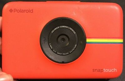 Polaroid Snap Touch instant print digital camera, For Parts Only