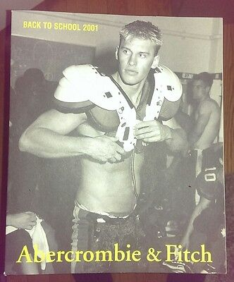Abercrombie & Fitch Back to School 2001 Catalog Bruce Weber Gay Art