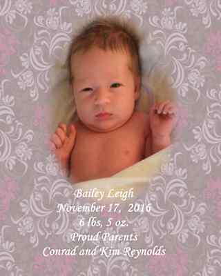 Baby Announcement Wine Bottle Labels or Gift Bag Label Favor Photo Personalize