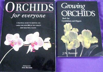 GROWING ORCHIDS IN AUSTRALIA BOOK ONE J. N. Rentoul + ORCHIDS FOR EVERYONE
