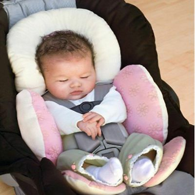 Baby Car Seat Cosy Stroller Cushion Liner Pad Head Support Rest Matress Pillow