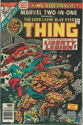 MARVEL Bronze Age : Marvel Two-in-One Annual #1 (Jack Kirby) Sal Buscema