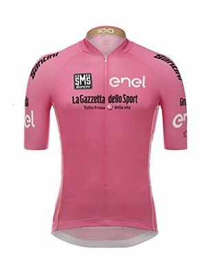 Santini Giro d'Italia, Maillot manches courtes Homme M rose