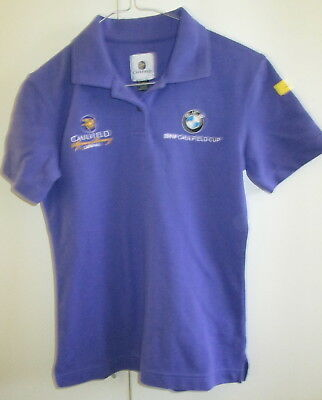 Caulfield Spring Racing Carnival 2009 BMW Cup Size 8 Polo Top Ladies Race Horse