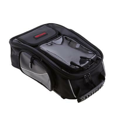 Black Motorcycle Waterproof Tank Bag / Tail Bag Hand Bag for Universal New