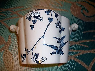 RARE OLD Pottery~Jar Scarce DUCKS/GEESE BROWNFIELD1871 Antique CHINESE BRUSH POT