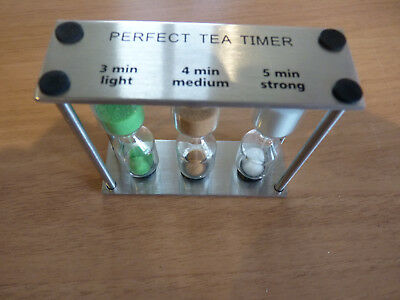 Hourglass Perfect Tea Timer Sandtimer NEW & BOXED Great Gift  5/19