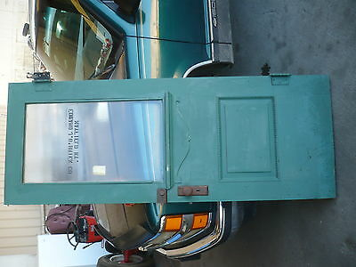 Old Antique Door from Old Tobacco Warehouse Edward J O Brein Co. Ky