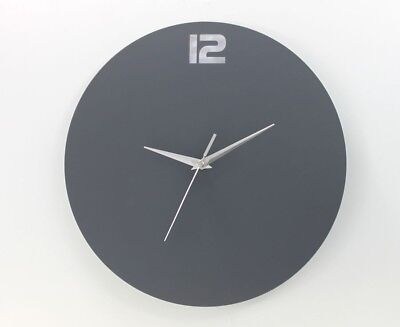 Large Round Modern Home Bedroom Minimalist Kitchen Wall Clock Quartz New