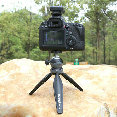 Magideal Mini Tripod Foldable Portable Stand with Ball Head for DSLR Camera