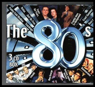Various - The 80'S 3 cd´s