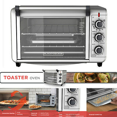 Commercial CONVECTION OVEN Baking Pizza Stainless Steel Countertop Toaster