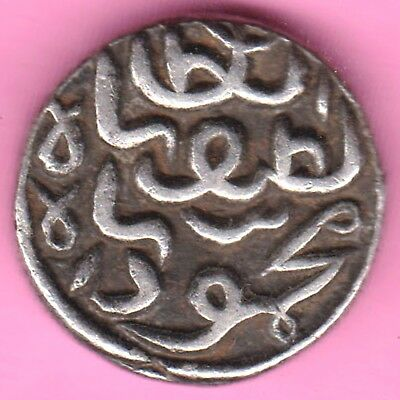 Gujarat Sultanate-Mehmood Shah-One Tankah-Rarest Silver Coin-65