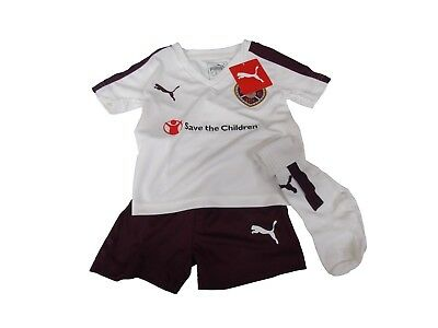Official  Heart Of Midlothian 2015/2016 Infant Kit - Away