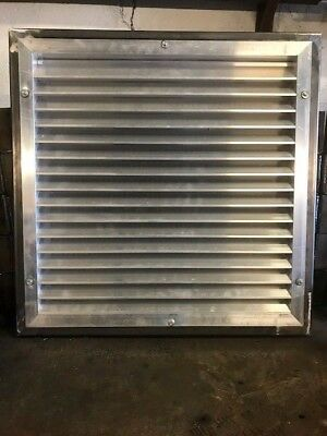 Shipping Container Vent Panels 600 Mm Square Steel Weldable Framed