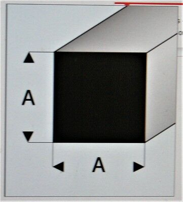 "0.080/""x 0.080/"" x 330mm X5 MAQUETT 416-52//3 White Styrene Angle 2.0 mm x 2.0mm"