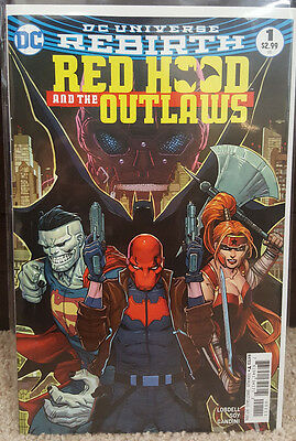 Red Hood And The Outlaws #1 (2016) DC Rebirth Comics - New/Unread