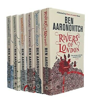 Rivers of London PC Peter Grant Books Ben Aaronovitch 6 Book Collection New