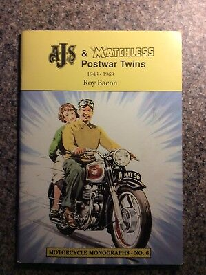 AJS & Matchless Postwar Twins 1948-69