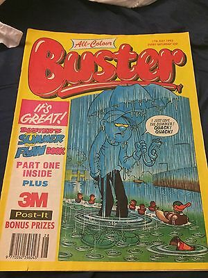 All Colour Buster UK Comic Book 17th July 1993 (17/07/93)