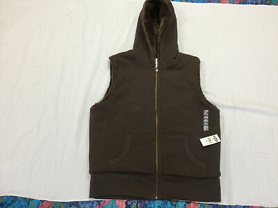 Nwt Old Navy Womens Reversible Hooded Vest Size Xl