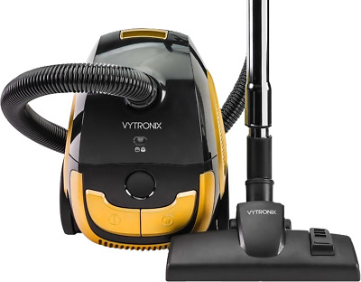 Vytronix BGG-C01 1200W Compact Powerful Bagged Cylinder Vacuum Cleaner Hoover