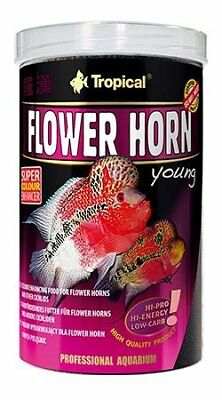 TROPICAL Flower Horn Young Pellet Nourriture pour Aquariophilie 1 L