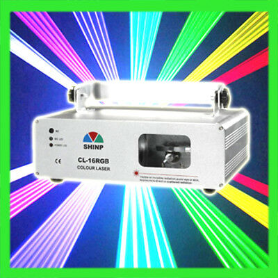 SHINP 760mW RGB FullColor Laser Light Stage Projector DJ Party KTVShow Fast Ship