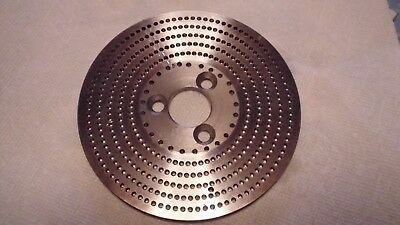 Ellis Dividing Head Plate Double Sided Has #4 On One Side #5 On Other Side