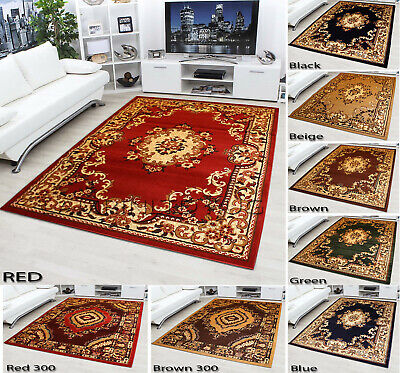 Beautiful Brand New Classic Traditional Persian Style Rug Free uk Shiping
