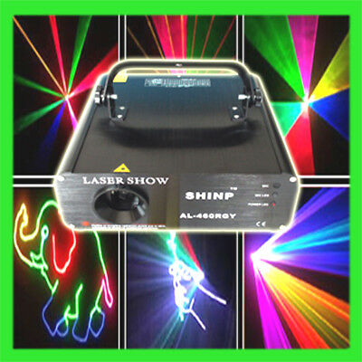 PRO 760MW Stage Light 3D Cartoon Animation RGB Full Color ILDA DMX Laser light