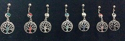 Piercing Ombelico Jewelry Navel Belly Bars 316L Surgical Steel 1,6 Life's Tree