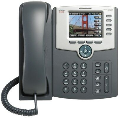 NEW Cisco SPA525G2 IP Phone 5 Line Color Display