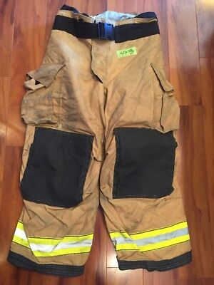 Firefighter Turnout Bunker Pants Globe 42x28 G Extreme Costume 2011
