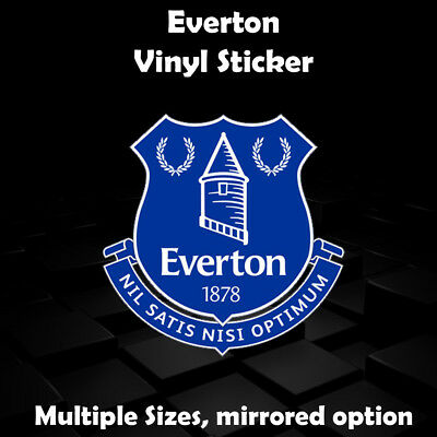 Custom Everton Badge Sticker - Car Sticker Window Sticker