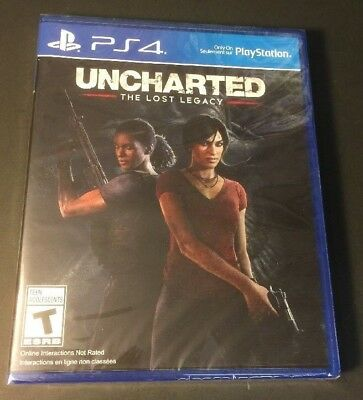 Uncharted The Lost Legacy [ First Print ] (PS4) NEW