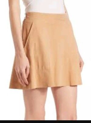 6780e455f11432 Joie Women s Size 8 Large Suede Skirt Mini