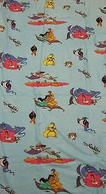Disney Bettwäsche bedding Aladdin Jasmine vintage 80s 90s fabric duvet sheet