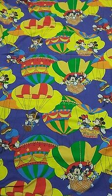 Disney Bettwäsche bedding set Mickey and Minnie Maus hot air balloon 80s 90s