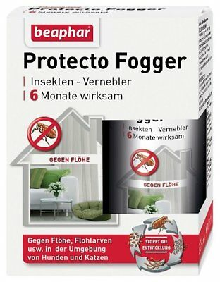 Beaphar Protecto FOGGER Insecticide pour Chien 2 x 75 ml