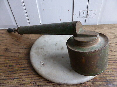 Vintage French large flit spray pulverisateur with wooden handle
