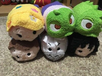 Tangled Tsum Set Full BNWT Disney Collectable